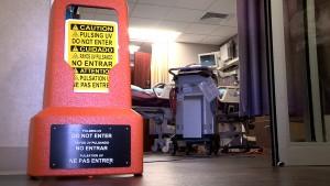 Bryan Health Xenex Cleaning Robot.00 05 38 16.still003