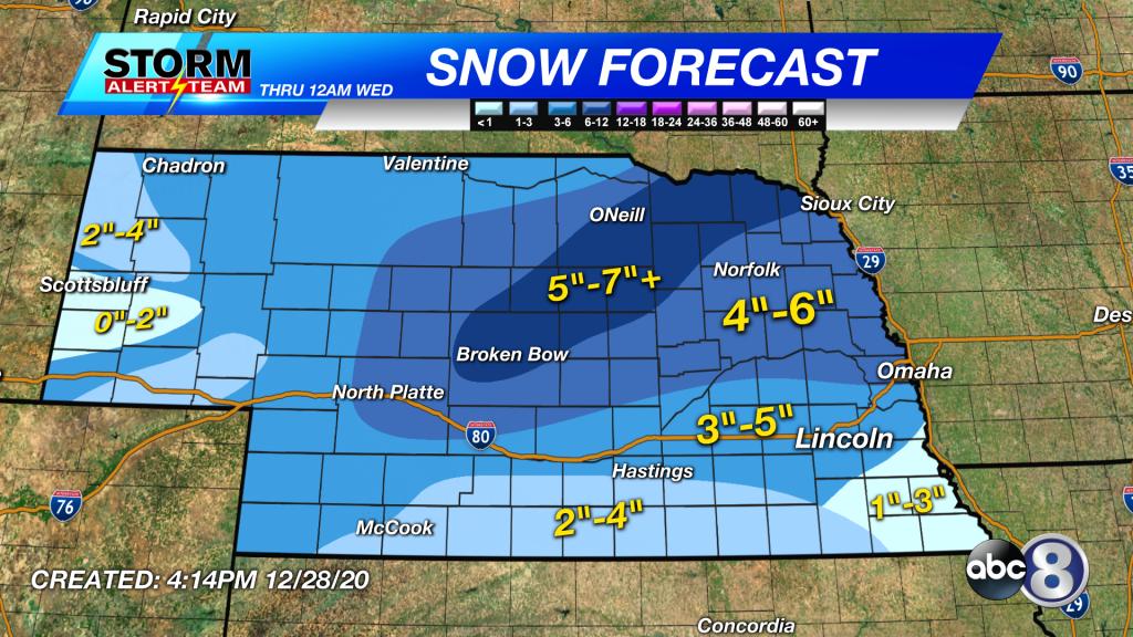 201228 5pm Snow Map