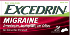 Recalled Excederin Example 2