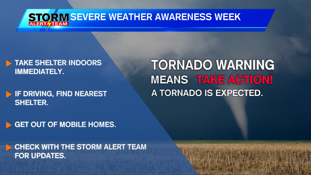 Tornado Warning Severe Wx Awareness Week