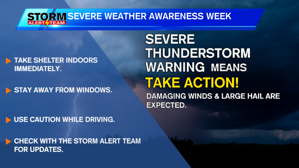 Severe Thunderstorm Warning Severe Wx Awareness Week