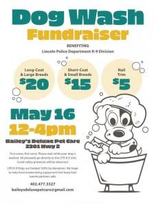 Dog Wash Fundraiser
