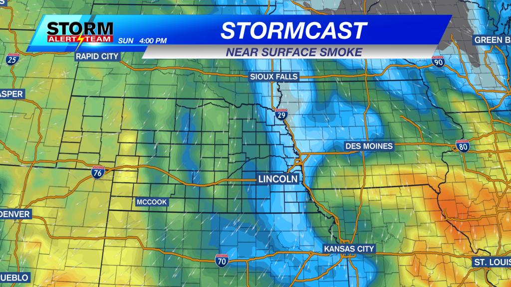 Stormcast Near Surface Smoke Sunday