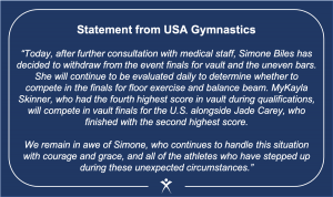 USA Gymnastics Statement