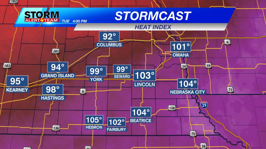 Latest Ndfd Heat Index