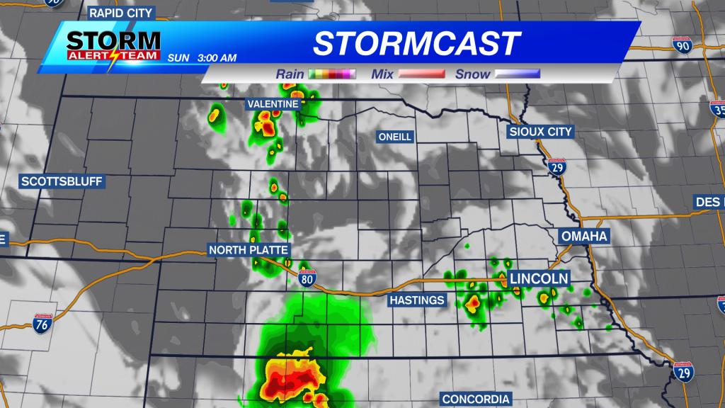 Stormcast Sunday Morning