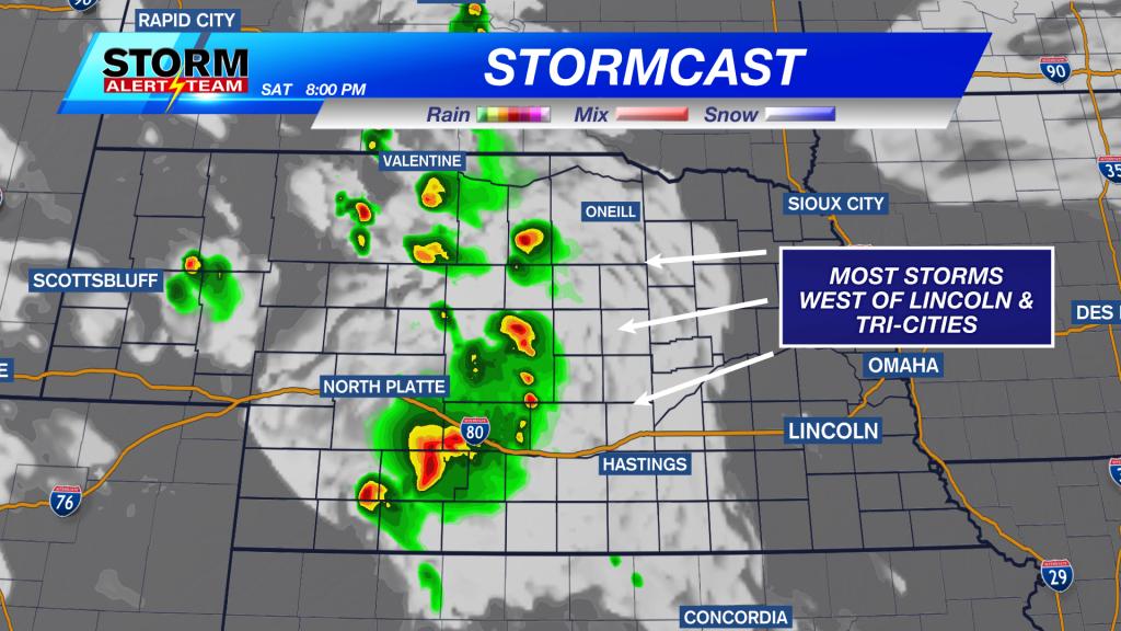 Stormcast Saturday Afternoon