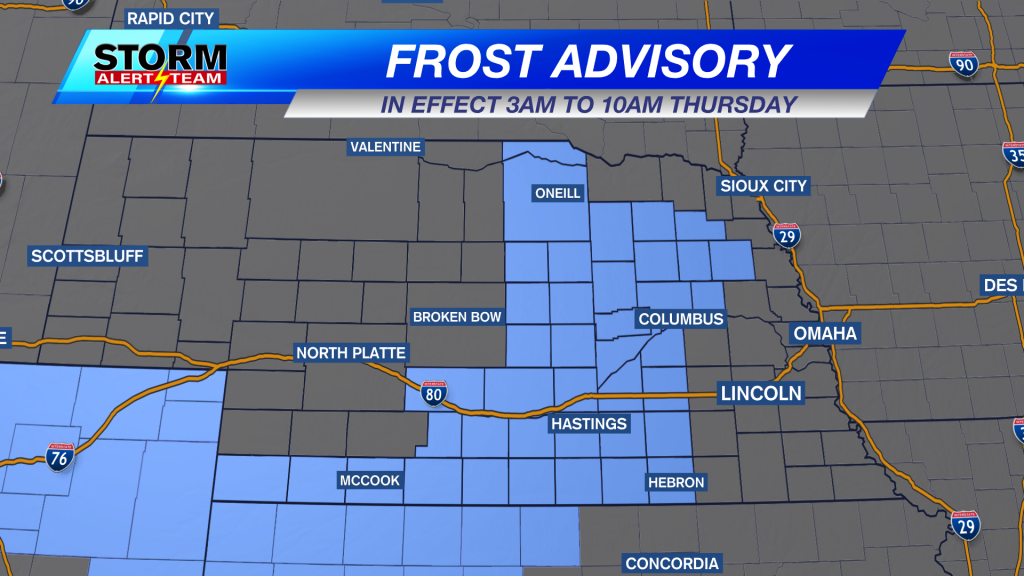 Frost Advisory State